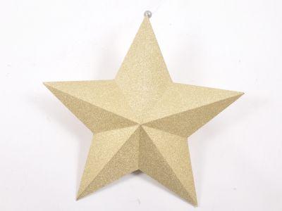 Zvezda iz pap. x5 z bleščicami