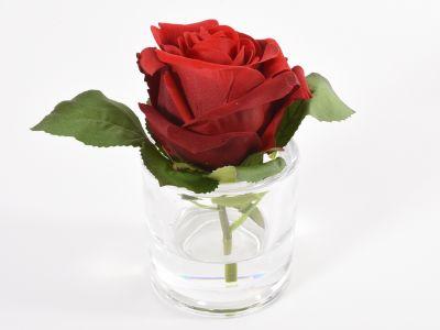 Vrtnica cvet v stek.kozarčku 14cm