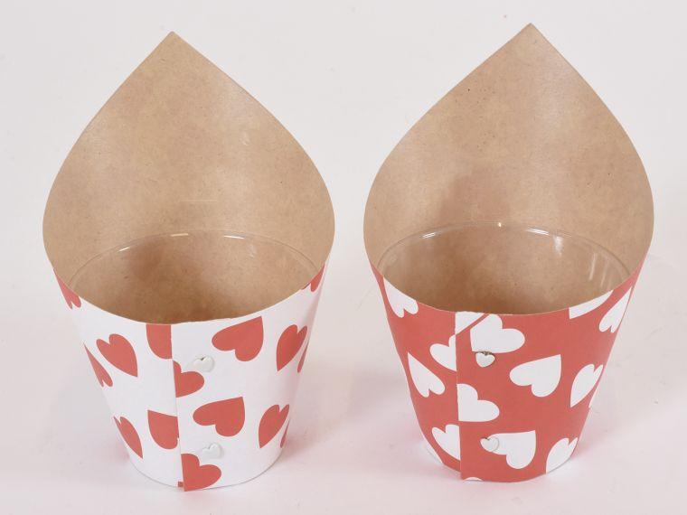Ovitek papir.za rože kpl/12kos sort.